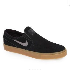 Nike janoski slip ons